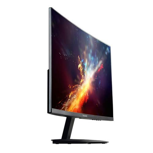 "Yashi Pioneer Monitor Curvo per Gamers 59.9 cm ((23.6"") 1920 x 1080 pixels, Full HD, IPS LED, 1 ms, 350 cd/m², 144Hz), Nero"