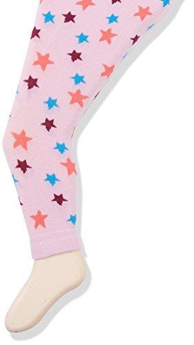 Sterntaler Baby-Mädchen Legging Leggins Sterne / Herzen, Rosa (Malve 706), 74