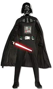 Star Wars - Disfraz de Darth Vader con espada para hombre, Talla única adulto (Rubie