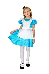 César F036-002 - Disfraz de Alicia para niña (5 años)