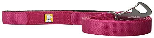 Ruffwear Hundeleine, Stark und leicht, Alle Hunderassen, Länge: 1,5 m, Breite: 20 mm, Beere (Wild Berry), Front Range Leash, 4075-645