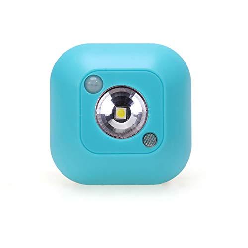 ZLYHXYR Sensor Nachtlicht Dual Induction Motion Sensor Lampe Magnetic Infrarot Wandleuchte Cabinet Stairs Light , Blue -