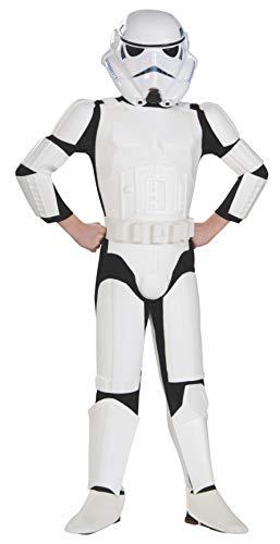 Costume Stormtrooper Star wars deluxe bambino 8 a 10 anni