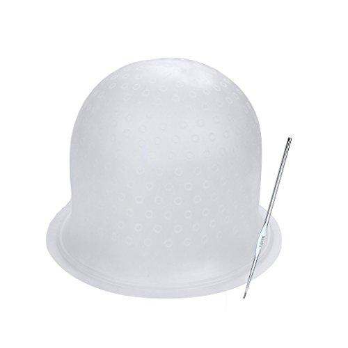 Beikal - Gorro silicona hacer mechas ganchillo, uso
