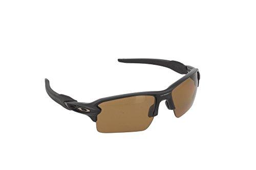 Oakley Herren Sonnenbrille FLAK 2 Matte Black Iridium, 59