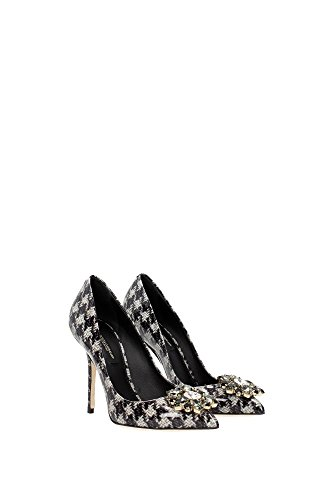CD0047AC691HD266 Dolce&Gabbana Talon Femme Cuir Verni Noir Noir