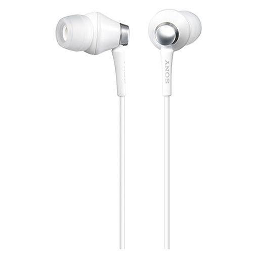 Sony MDR-EX75SL/W auricular - Auriculares 16 Ohmio