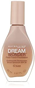 MAYBELLINE Dream Wonder Fluid Touch Foundation - Nude 40