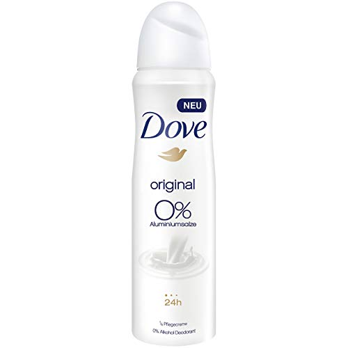 Dove Deospray Original ohne Aluminium, 6er Pack (6 x 150 ml)