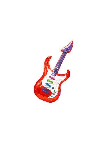 Guitar SuperShape Foil Balloons