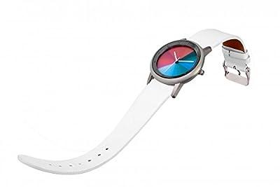 Avant Segments (nuevo diseño)-Rainbow e-motion of color unisex reloj de pulsera caja de acero inoxidable de Rainbow Watch GmbH
