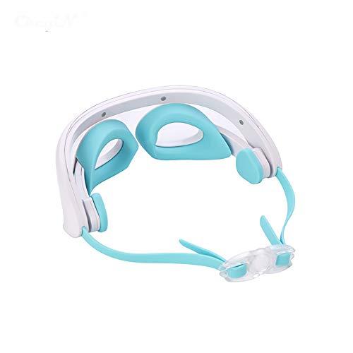 ZUEN Augenpflege-Instrument-Augen-Taste zur Ermüdung Eye Meter LED Konstante Temperatur Hot Compress Beauty Massage Instrument