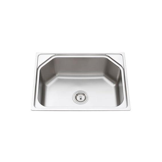 10x Matte Finish Stainless Steel Sink Kitchen, Bathroom Accessories (24x 18x 9-inch)