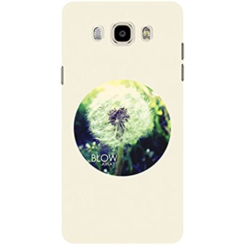 Koveru Back Cover Case for Samsung Galaxy J7-2016 - Blow Away Flower