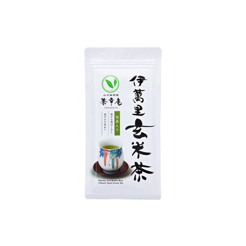 tokyo-matcha-selection-tea-chakouan-matcha-brown-rice-infused-imari-green-tea-100g-352oz-japanese-popcorn-tea-from-kyushu-standard-ship-by-sal-no-tracking-number