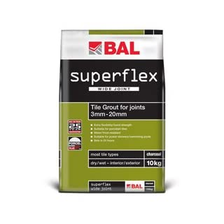 BAL Superflex WJ Grout in Limestone 3.5kg water/frost resistant grout