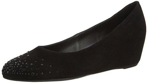 Högl Scarlett, Chaussures compensées femme Noir (Black 0100)