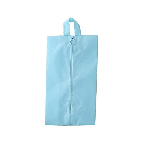 Deanyi Reisen Schuhe Tasche Water Resistant Speicher Organisator Beutel Wasserdichtes Klare Schuhe Aufbewahrungstasche mit Reißverschluss Blau Home Zubehör