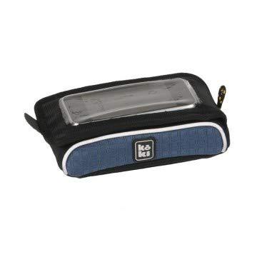 Koki Sattel Trainer Laufradtasche Smartphonetasche Mogi, Peacoat Blau, 15 x 8 x 4 cm, 27403
