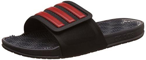 Adidas Herren Adissage 2.0 Stripes Flip-Flops, Rot (Negbas/Rojbas/Granit), 43 EU