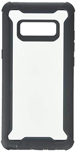 i-Blason Hülle Kompatibel für Samsung Galaxy Note 8 Handyhülle 360 Grad Case Transparent Schutzhülle Cover [Ares] mit eingebautem Displayschutz, Schwarz