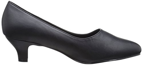 Pleaser - Fab-420w, Scarpe col tacco Donna Nero (Blk Faux Leather)