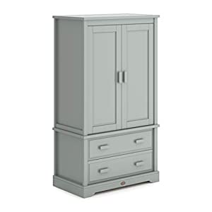 Boori Boori 2 Door Wardrobe, Pebble   6
