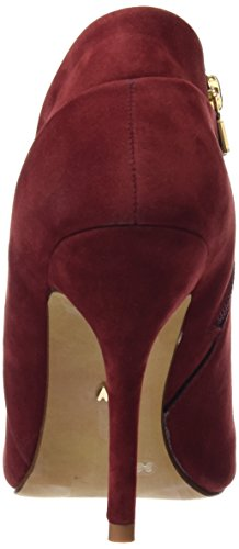 Maria Mare 2016 I Basic Calzado Señora, Chaussures à Talon avec Bout Fermé Femme PEACH BURDEOS