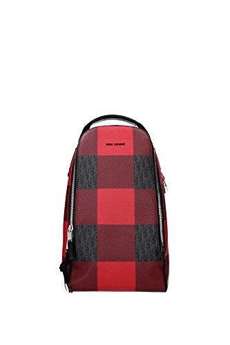 sac-a-bandouliere-christian-dior-homme-cuir-rouge-noir-et-argent-1depo037xit26quh26q-rouge-155x20x34