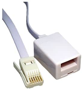 Max Value BT Extension Cable, 10 Mtrs, White