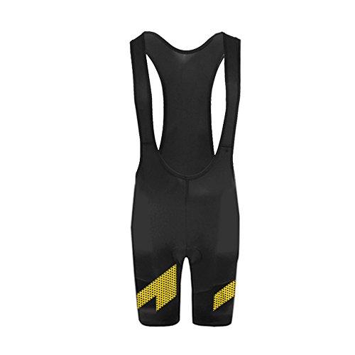 UglyfrogBike-Wear Atmungsaktive, Kurze Herren Rennrad-Trägerhose, Mit Sitzpolster, Bib Shorts+