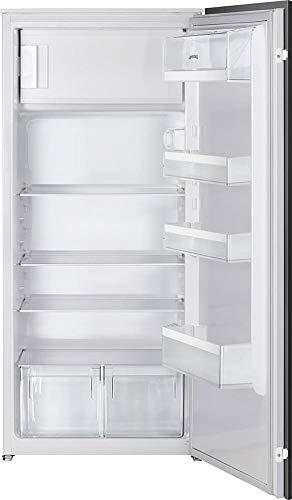 Smeg Glas-kühlschrank (LogiLink S3C120P1 integrierter Kühlschrank 189l A+ weiß - Kombi-Kühlschrank (integriert, weiß, rechts, Glas, 189 L, 192 L))