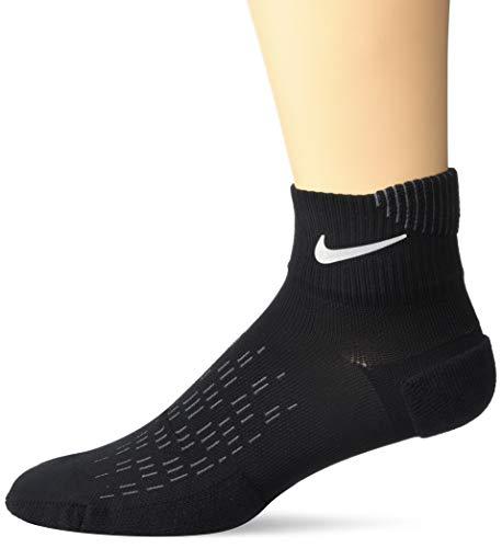 Nike Unisex U Nk Spark Cush Ankle Socks , black/Reflective , 41-43 EU -