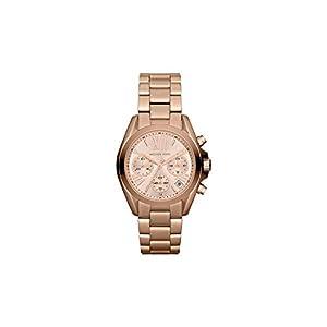 Michael Kors Damen-Uhren Rund Analog Quarz Edelstahl 32002543
