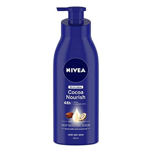 NIVEA Oil in Lotion, Cocoa Nourish, 400ml