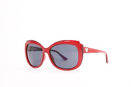 Moschino Damen MO-71603-S Sonnenbrille, Rot (Red), 59