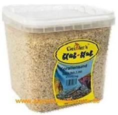 20 kg Korallensand fein, 1 mm, Aquarium Kies, Boden