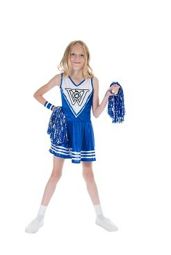 Monster Cheerleader Kinderkostüm
