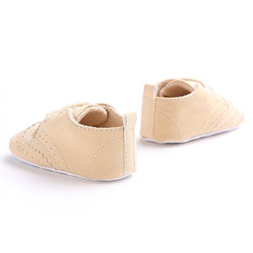 Hunpta Bandage Single Baby Schuhe weiche Sohle Schuh weiche Schuhe Flats Schuhe Braun