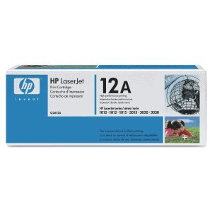 HP Cartucho HP Q2612A negro