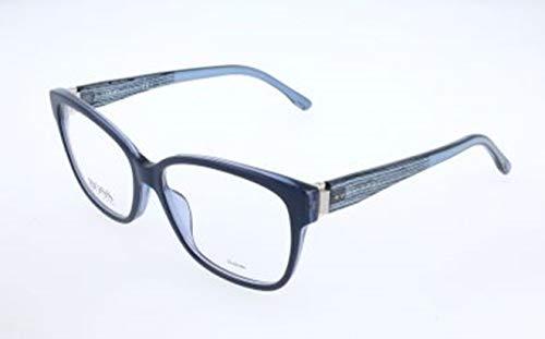 BOSS Hugo Damen Brille Brillengestelle, Blau, 53
