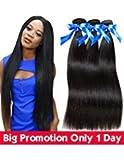 Best Brazilian Straight 4 Bundles - 8A Brazilin Straight Hair Bundles Brazilian Virgin Hair Review