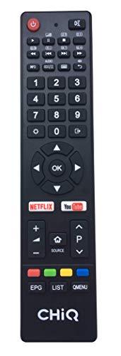 31iOD9mJvCL - Smart TV 40'' LED, CHiQ U40E6000, UHD,4k, HDR10, WiFi, Youtube, Netflix, Dolby Digital Digital, HDMI 2.0, Triple Tuner.