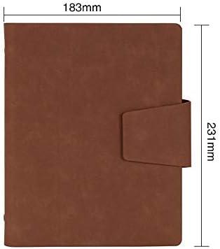 feuilles volantes business carnet, des fournitures de bureau, des bloc bloc bloc - notes, travail du cuir, conference record, cette a5 183  231mm orange,café B07J6PDNPH   Qualité Fiable  03ba8f