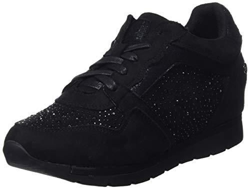 XTI 48287, Zapatillas Altas Mujer, Negro Black, 37