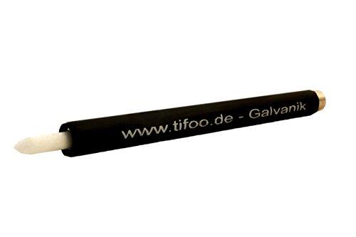 """GalvanoPen\""""Graphit\"""" für Stift-Galvanisier-Gerät/Anlage + 3 Filzspitzen - Für filigranes Galvanisieren"""