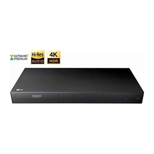 31iOXNxvqsL. SS500  - LG 4K Ultra HD Region-Free Blu-ray Player DVD Player, Multi region 110-240 volts | Dynastar 6FT HDMI
