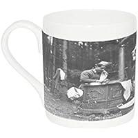 Mug with World War II. French chef (soldier)