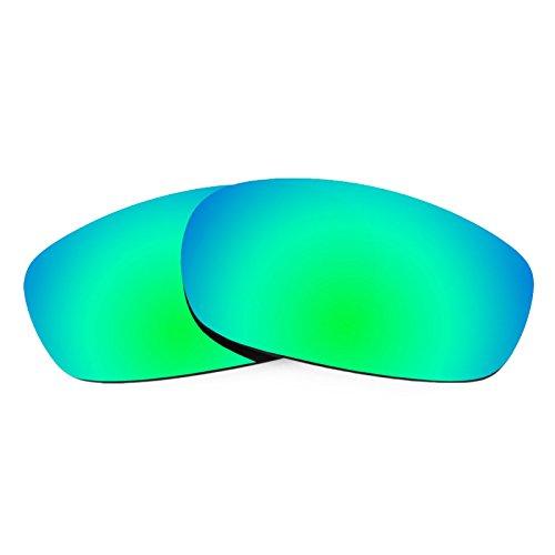 Revant Ersatzlinsen für Oakley Square Wire 2.0 Polarisierung Elite Rogue Grün MirrorShield®
