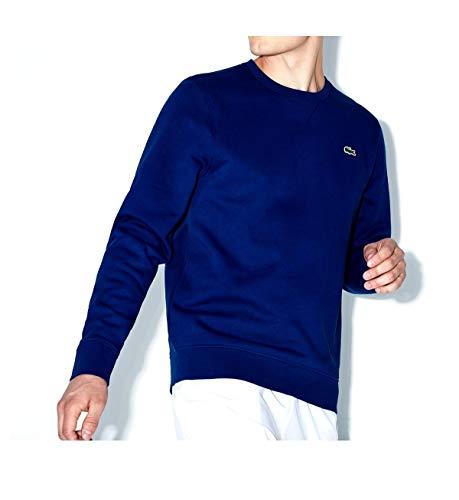 Lacoste Men's Sport Crewneck Fleece Tennis Sweatshirt Fleece-pullover Golf